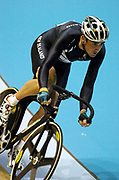 New Zealand cyclist Hayden Roulston competes in the Men's Points Race during the XVIII Commonwealth Games, at the Multi Purpose Arena, Melbourne, Australia, on Friday 17 March, 2006. Photo: Sport the Library / www.photosport.nz