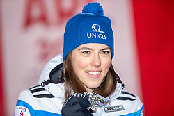 08.02.2019, Aare, SWE, FIS Weltmeisterschaften Ski Alpin, alpine Kombination, Siegerehrung, Damen, im Bild Silbermedaillengewinnerin Petra Vlhova (SVK) // Silver medalist Petra Vlhova of Slovakia during the winner Ceremony for the ladie's alpine combination of FIS Ski World Championships 2019. Aare, Sweden on 2019/02/08. EXPA Pictures © 2019, PhotoCredit: EXPA/ Dominik Angerer