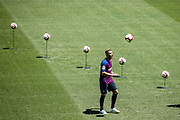 Presentation FC Barcelona new player Arthur Melo from Brazil on July 11, 2018 at Camp Nou stadium in Barcelona, Spain - Photo Xavier Bonilla / Spain ProSportsImages / DPPI / ProSportsImages / DPPI