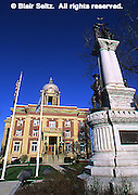 Mercer County Courthouse and monument, Mercer Co., PA