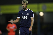 Southend United defender Adam Thompson (5) during the EFL Trophy match between Southend United and U23 Brighton and Hove Albion at Roots Hall, Southend, England on 30 August 2016.