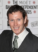 Nick Moran The Moet British Independent Film Awards, Old Billingsgate Market, London, UK, 05 December 2010:  Contact: Ian@Piqtured.com +44(0)791 626 2580 (Picture by Richard Goldschmidt)