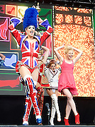 West End Live! 2016 <br /> Trafalgar Square, London, Great Britain <br /> 18th June 2016<br /> <br /> <br /> KINKY BOOTS<br /> <br /> <br /> Photograph by Elliott Franks <br /> Image licensed to Elliott Franks Photography Services