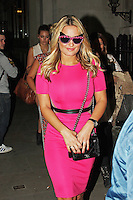 LONDON - April 24: Sam Faiers (Photo by Brett D. Cove)