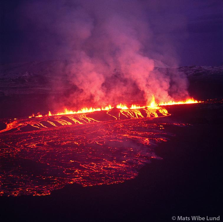 Krafla eldgos, Skútustaðahreppur / Krafla eruption, Skutustadahreppur
