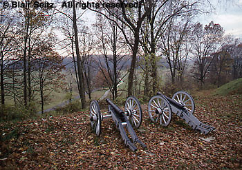 Canons, Valley Forge National Historical Park, King of Prussia, Montgomery Co., PA