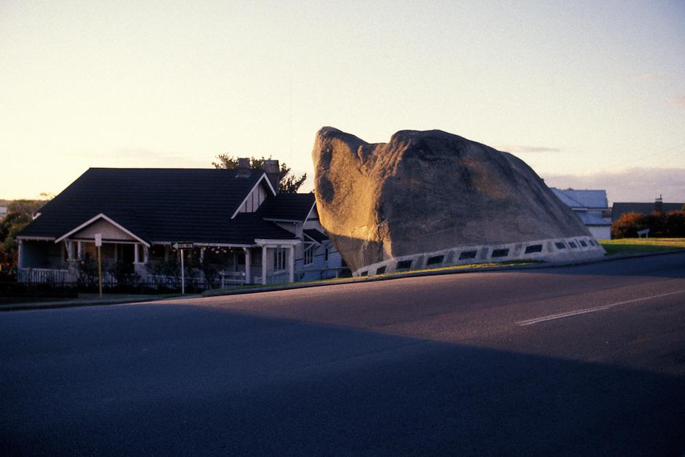Sunset at Dog Rock, Albany, West Australia.