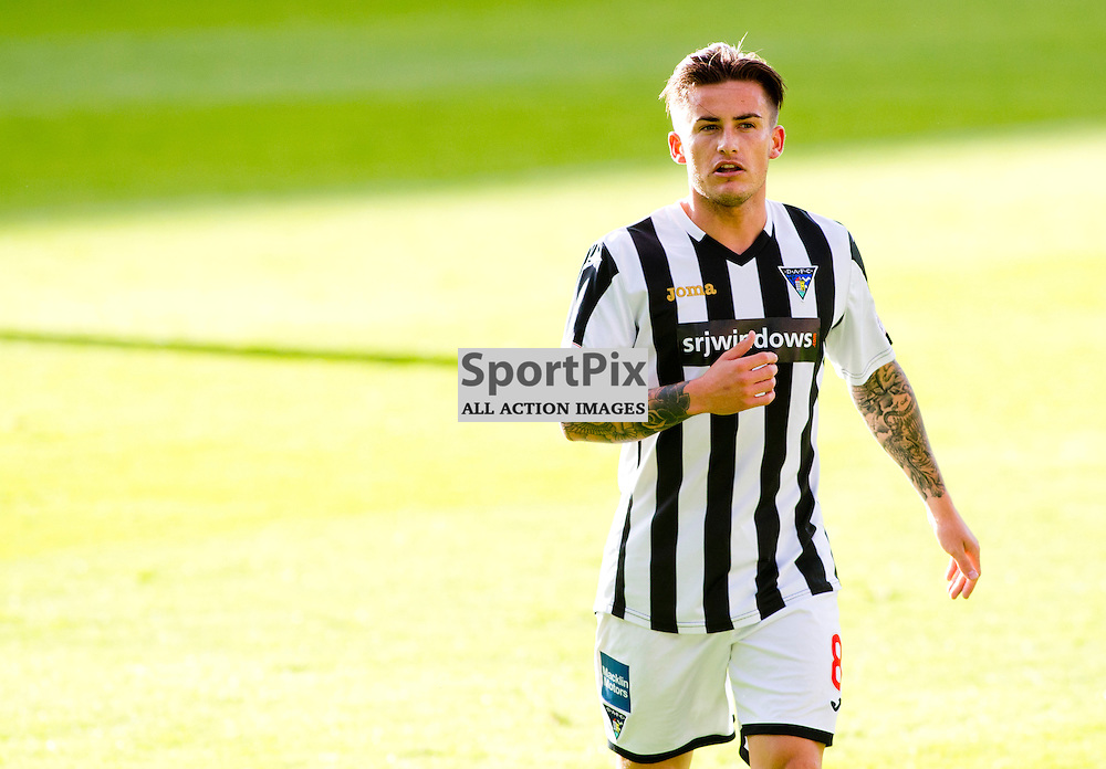 DAFC Sign Rhys McCabe East End Park 18 September 2015<br /> Rhys McCabe signs for DAFC, following a spell as a trialist, pictured playing against Hearts Under 20s 1st September 2015<br /> (c) CRAIG BROWN | SportPix.org.uk