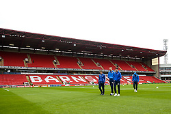 Bristol Rovers arrive at Barnsley - Mandatory by-line: Robbie Stephenson/JMP - 27/10/2018 - FOOTBALL - Oakwell Stadium - Barnsley, England - Barnsley v Bristol Rovers - Sky Bet League One