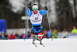 PETUSHKOV Roman, RUS at the 2014 IPC Nordic Skiing World Cup Finals - Long Distance