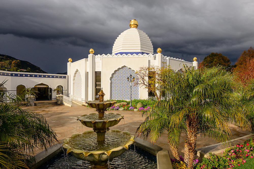 Self-Realization Fellowship Lake Shrine Temple, Sunset Blvd., Pacific Palisades, CA