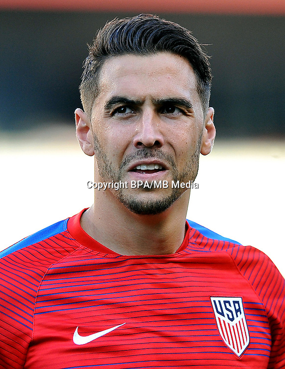 Concacaf- World Cup Fifa Russia 2018 Qualifyer - <br /> USA Soccer National Team - <br /> Geoff Cameron