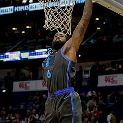 Dec 5, 2018; New Orleans, LA, USA; Dallas Mavericks center DeAndre Jordan (6) dunks against the New Orleans Pelicans during the second quarter at the Smoothie King Center. Mandatory Credit: Derick E. Hingle-USA TODAY Sports