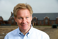 Congressman Tom Davis at the Lorton Prison project. Lorton, VA