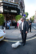 MICHAEL LENORA; ELLIOT , Pimlico Road party. 22 June 2010. -DO NOT ARCHIVE-© Copyright Photograph by Dafydd Jones. 248 Clapham Rd. London SW9 0PZ. Tel 0207 820 0771. www.dafjones.com.