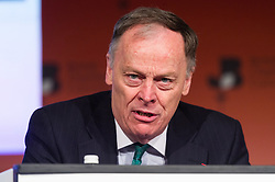 © Licensed to London News Pictures. 28/02/2017. Chief Executive, EDF energy VINCENT DE RIVAZ speaks at the British Chambers of Commerce Annual Conference 2017 on growing business in the regions and nations.<br /> London, UK. Photo credit: Ray Tang/LNP