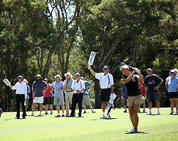 (Canberra, Australia---30 January 2011)  playing in the final round of the ActewAgl Royal Canberra Ladies golf tournament as part of the 2011 Australian Ladies Pro Golf Tour./ 2011 Copyright Sean Burges. For Australian editorial sales, contact seanburges@yahoo.com.