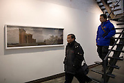 Visitors at the 798 Photo Gallery.