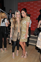 Left to right, CAROLINE HABIB and TAMARA ECCLESTONE at the 2012 Rodial Beautiful Awards held at The Sanderson Hotel, Berners Street, London on 6th March 2012.