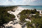 Sardegna, Italy. Costa Orientale SP125. Capo Comino (Siniscola)