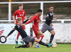 Lloyd Kelly of Bristol City U23 in action against Southampton U23 - Mandatory by-line: Paul Knight/JMP - 16/02/2017 - FOOTBALL - Twerton Park - Bath, England - Bristol City U23 v Southampton U23 - Premier League 2 Cup