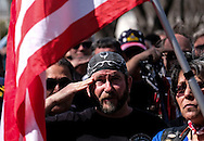 Citizens salute as the hearse carrying the body of Whittier Police Officer Keith Boyer arrives at Rose Hills Memorial Park in Whittier, Calif., Friday March 3, 2017. Boyer, who was fatally shot after responding to a traffic crash, was remembered today by thousands of law enforcement officers, friends and family as a dedicated public servant, talented drummer, loving friend and even a ``goofy'' dad.(Photo by Ringo Chiu/PHOTOFORMULA.com)<br /> <br /> Usage Notes: This content is intended for editorial use only. For other uses, additional clearances may be required.
