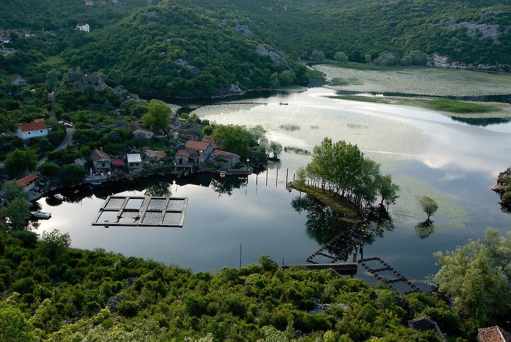 Lake Skadar, Karuc village, Montenegro