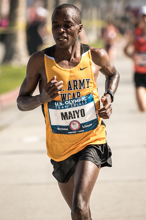 USA Olympic Team Trials Marathon 2016, Augustus Maiyo, US Army