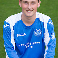 St Johnstone U17 Thomas Johnstone<br /> <br /> Picture by Graeme Hart.<br /> Copyright Perthshire Picture Agency<br /> Tel: 01738 623350  Mobile: 07990 594431
