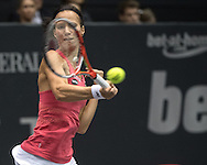 Viktorija Golubic (SUI) during the finals of the WTA Generali Ladies Linz Open at TipsArena, Linz<br /> Picture by EXPA Pictures/Focus Images Ltd 07814482222<br /> 16/10/2016<br /> *** UK &amp; IRELAND ONLY ***<br /> <br /> EXPA-REI-161016-5006.jpg