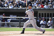 CHICAGO - APRIL 11:  Joe Mauer #7 of the Minnesota Twins bats against the Chicago White Sox on April 11, 2015 at U.S. Cellular Field in Chicago, Illinois.  (Photo by Ron Vesely)   Subject:   Joe Mauer