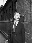 Alan Simpson (Pike Theatre) in Dublin District Court .04/07/1958