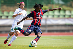 Faustina Ampah of FC Minsk during football match between FC Minsk and ZNK Olimpija Ljubljana in 2nd Qualifying Group of UEFA Women's Champions League 2018/19, on August 7, 2018 in Stadion ZAK, Ljubljana, Slovenia. Photo by Urban Urbanc / Sportida