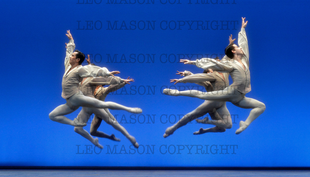 17.04.2013 English National Ballet dancing Ecstasy &amp; Death at the London Coliseum UK<br /> Etudes performed by Artists of the Company