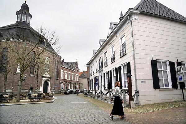 Nederland, Ravenstein, 13-4-2018Een vestingstad aan de Maas, in de gemeente Oss, in de Nederlandse provincie Noord-Brabant . De historische binnenstad telt verschillende rijksmonumenten .Foto: Flip Franssen