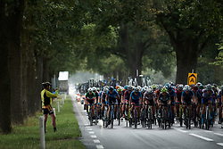 The peloton approach at Boels Ladies Tour 2019 - Stage 2, a 113.7 km road race starting and finishing in Gennep, Netherlands on September 5, 2019. Photo by Sean Robinson/velofocus.com