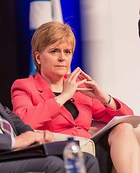 First Minister of Scotland Nicola Sturgeon MSP speaking at a public discussion in Edinburgh for EU nationals living in Scotland<br /> <br /> (c) John Baguley   Edinburgh Elite media