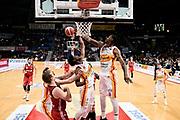 Eboua Paul, T.Willams<br /> Carpegna Prosciutto Basket Pesaro - Allianz Pallacanestro Trieste<br /> Campionato serie A 2019/2020 <br /> Pesaro 5/01/2020<br /> Foto M.Ciaramicoli // CIAMILLO-CASTORIA