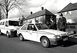 Police officers, UK 1989