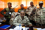 An army colonel in charge of the army base in Benghazi declares his support for the protesters on Feb. 26, 2011.
