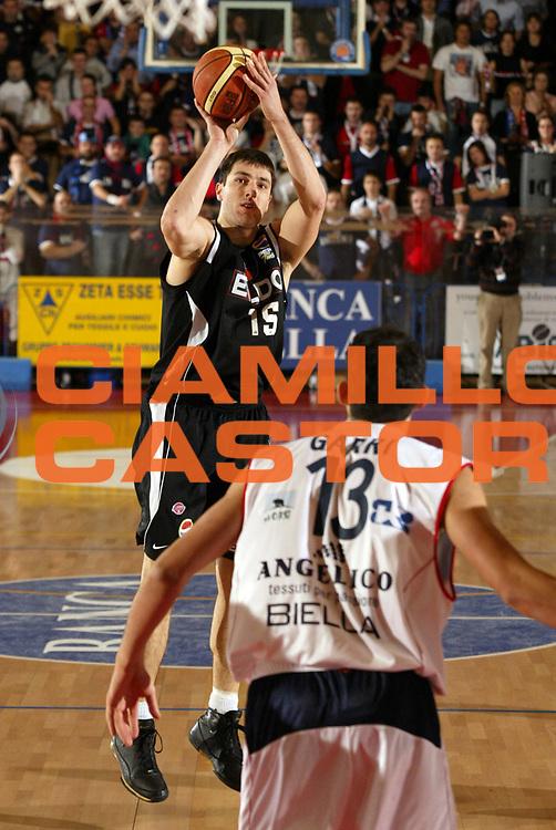 DESCRIZIONE : Biella Lega A1 2008-09 Angelico Biella Eldo Caserta<br /> GIOCATORE : Andrea Michelori<br /> SQUADRA : Eldo Caserta<br /> EVENTO : Campionato Lega A1 2008-2009 <br /> GARA : Angelico Biella Eldo Caserta  <br /> DATA : 07/12/2008 <br /> CATEGORIA : Tiro<br /> SPORT : Pallacanestro <br /> AUTORE : Agenzia Ciamillo-Castoria/E.Pozzo <br /> Galleria : Lega Basket A1 2008-2009 <br /> Fotonotizia : Biella Campionato Italiano Lega A1 2008-2009 Angelico Biella Eldo Caserta<br /> Predefinita :