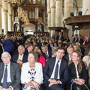 NLD/Naarden/20190419 - Matthaus-Passion in de grote kerk van Naarden, Wopke Hoekstra en partner