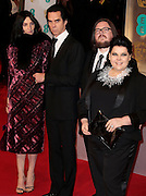 Feb 8, 2015 - EE British Academy Film Awards 2015 - Red Carpet Arrivals at Royal Opera House<br /> <br /> Pictured: (L to R) Susie Bick, Nick Cave, Iain Forsyth and Jane Pollard<br /> ©Exclusivepix Media
