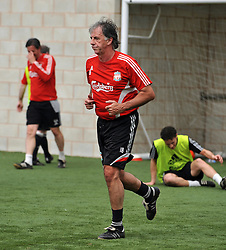 LIVERPOOL, ENGLAND - Tuesday, May 12, 2009: Ex-Liverpool player Mark Lawrensen during a training session at Melwood as the players prepare for the Hillsborough Memorial Game in aid of the Marina Dalglish Appeal which will be staged at Anfield on May 14. (Photo by Dave Kendall/Propaganda)