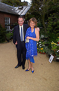 The Duke and Duchess of Rutland. Cartier dinner after thecharity preview of the Chelsea Flower show. Chelsea Physic Garden. 23 May 2005. ONE TIME USE ONLY - DO NOT ARCHIVE  © Copyright Photograph by Dafydd Jones 66 Stockwell Park Rd. London SW9 0DA Tel 020 7733 0108 www.dafjones.com