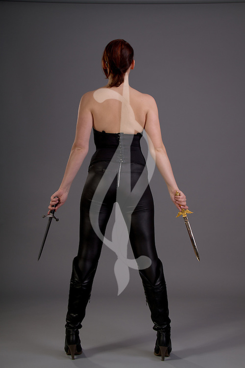 Urban Fantasy Female with Sword and/or Dagger. Urban Fantasy/Paranormal Female