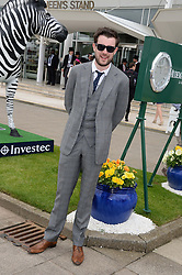 JACK WHITEHALL at the Investec Derby 2013 held at Epsom Racecourse, Epsom, Surrey on 1st June 2013.