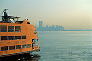 Staten Island Ferry near City, Manhattan, New York CIty, New York c.1996