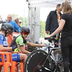 31-08-2017: Wielrennen: Boels Ladies Tour: Roosendaal: Tatiana Guderzo