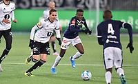 Fotball , 1. november 2019 , Eliteserien , Strømsgodset - Rosenborg<br /> <br /> Anders Konradsen , RBK<br /> Ipalibo Jack ,  SIF